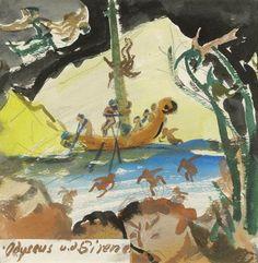 Oskar Laske : Galerie bei der Albertina Painting, Art, Sirens, Artworks, Pictures, Art Background, Painting Art, Kunst, Paintings