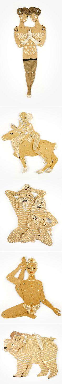 Maria Dubrovskaya ~ paper dolls