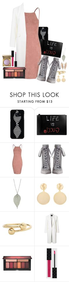 """""""Stila"""" by simonebaird ❤ liked on Polyvore featuring Samsung, Gucci, Zimmermann, Mounser, J.W. Anderson, Alexander Wang, Smashbox and Stila"""