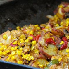Silver Dollar City Succotash ~ I wish I was there right now! (This links to the actual recipe posted by the Food Channel)