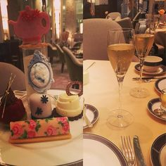 Fanciest afternoon tea I've ever been to! #birthday #surprise #afternoontea #langham #hotel #champagne #scones #yum by kayleigh1902
