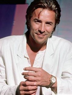 """Donny Wayne """"Don"""" Johnson (born December 15, 1949) is an American actor and recording artist perhaps best known for his lead role as James """"Sonny"""" Crockett in the 1980s television series, Miami Vice. Description from pinterest.com. I searched for this on bing.com/images"""