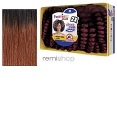 Freetress 2X Teeny Curl - Color OT30 - Synthetic Braiding