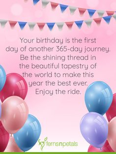 Best Happy Birthday Wishes, Quotes & Messages - Ferns N Petals Birthdays birthday wishes Happy Birthday Dear Friend, Happy Birthday Greetings Friends, Cute Happy Birthday, Birthday Wishes Messages, Birthday Wishes For Myself, Happy Birthday Quotes, Happy Birthdays, Birthday Blessings, Happy Wishes