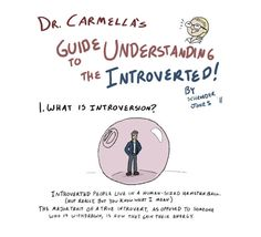1 | Your Guide To Interacting With An Introvert | Co.Create: Creativity \ Culture \ Commerce *Virtual hug to my little sis!*