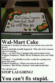 Wal-Mart cake mistakes   ... When You Order A Walmart Cake Breaking News & Views on BlackMediaScoop