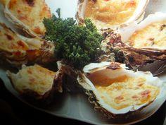 come cucinare le ostriche - gratinate