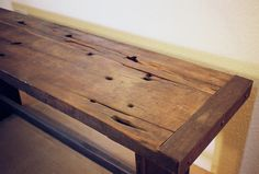 trestle console table (pre-finished) - PROJECT SUNDAY // HANDMADE IN THE USA