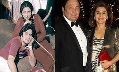 Bollywood Stars of the Then and now Bollywood Stars, Bollywood News, I Movie, Movie Stars, Padmini Kolhapure, Amar Akbar Anthony, Reena Roy, Neetu Singh, Rishi Kapoor