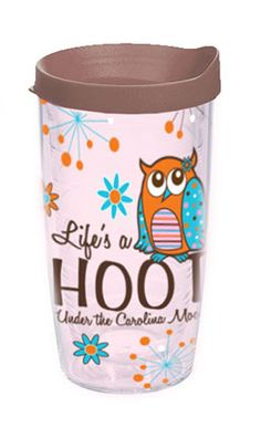 Life's a Hoot Tervis Tumbler from Under the Carolina Moon