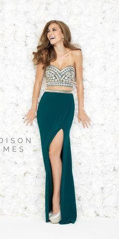 Beautiful Two-Piece Prom Dress
