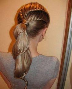Twisty Ponytail Braids