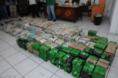 A Crazy Mexican Cartel Party House Was Raided.