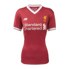 ca362ad3e 17-18 Liverpool Home Women s Jersey Shirt  liverpool  womens  red  football