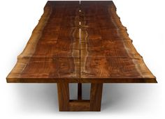 Duette Extension Table with Live Edge | NIBA Home