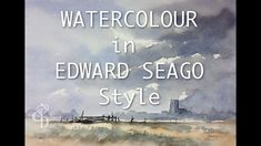 Watercolour in Edward Seago Style Ransdorp Qrt sheet Millford paper 140 lb not  #stCMill #millford
