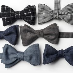 Limited edition bow ties, available only on zegna.com