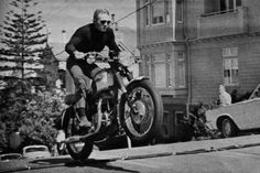 Steve Mcqueen Motorcycle Jump Mcqueen liked to hit the hills