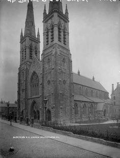 Peter's Roman Catholic Church, Belfast, Co. Northern Ireland Troubles, Belfast Northern Ireland, Roman Catholic, Photographs, Street, Building, Catholic, Photos, Buildings