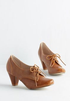 Swing Along Heel in Bourbon From the Plus Size Fashion Community at www.VintageandCurvy.com