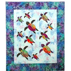 Turtle Trails quilt pattern by Annette Ornelas at Southwind Designs