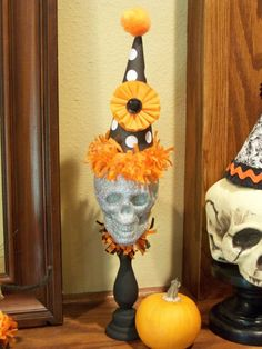 Clowning Around Halloween Decoration by JeanKnee on Etsy, $20.00
