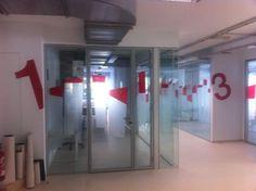 Señalética y creatividad en el Instituto Cruz Roja Bizkaia
