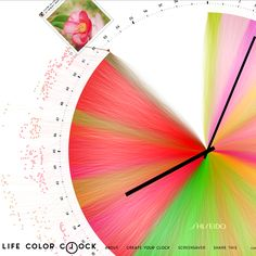 Shiseido - Life color clock