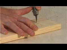 Woodworking : How to Carve Wood
