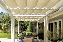 Slide Wire Patio Canopy