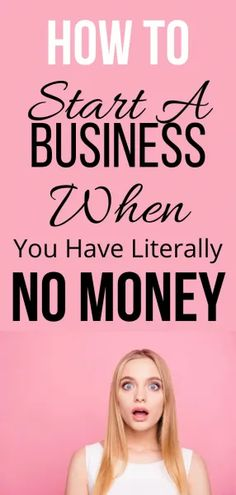 How to Start a Business With No Money - BBonlinemoney