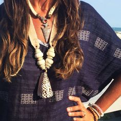 Twine & Twig Beach Style : Shore Shell Necklace