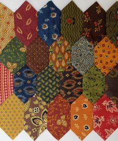 Honeycomb Quilt using Tie •