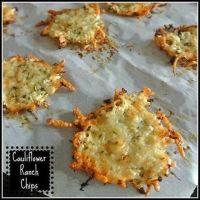 Cauliflower Ranch Chips Recipe