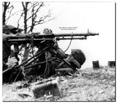 These men from SS Viking Division fire away with their machine gun