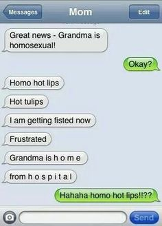 Texting gone wrong
