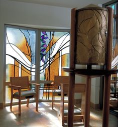 Kessler Studios Stained Glass- Old St. Mary's Catholic Church Eucharistic Chapel