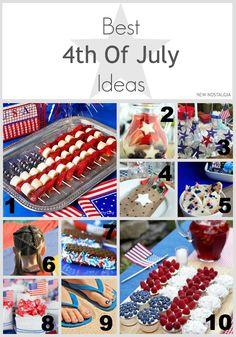 New Nostalgia: Favorite 4th Of July Ideas