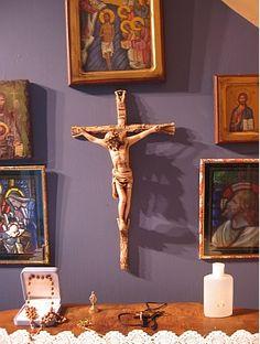 how to set up the altar for catholic mass