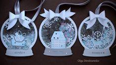 シャカシャカ☆スノードーム!手作りクリスマスカードの作り方