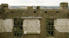 Plasterwork on the west wall of the Hill great chamber at Hardwick Old Hall. The giant figures on the overmantel may represent Mars and Hercules Chatsworth Estate, Duke Of Devonshire, Specimen Trees, Modern Mansion, English Heritage, Building A New Home, Derbyshire, Historic Homes, Days Out