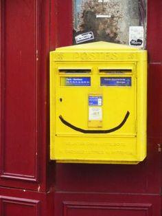 Boîte à lettres à Paris