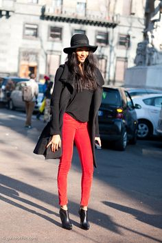 Jourdan Dunn, After Moschino #streetstyle #fashion #modelsoffduty | Gastro Chic