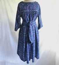 Pierre Deux Dress La Provence Vintage 60s Print NOS Midi Scarf Sash Folkloric 6