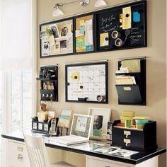 Home Decor Ideas / Desk organization