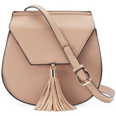 Yoki Flap Fringed Tassel Crossbody Saddle Bag ($24) ❤ liked on Polyvore featuring bags, handbags, shoulder bags, purses, bags and purses, brown, fringe purse crossbody, fringe purse, fringe crossbody and fringe shoulder bag