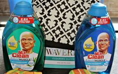 New Mr. Clean Liquid Muscle with 2.5 times the cleaning power! (sponsored) #CleanFreeWeekend