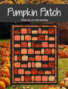 Lets Quilt Something: Pumpkin Patch - Layer Cake