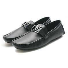 Louis Vuitton Black Loafer