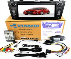 "Mazda 3. 8"" LCD with GPS 2 Din All in 1 unit. DVD, Navigation, AM-FM Radio, TV, IPOD, Multimedia Interface, Bluetooth, USB, SD card. Special Price: MYR1656.00"